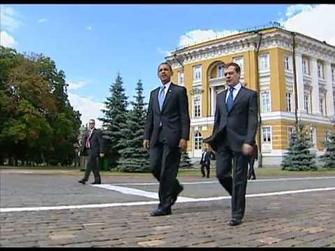 US President BARACK OBAMA'S 1st MOSCOW TRIP Highlights  [Archive]