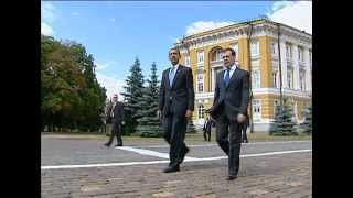 US President BARACK OBAMA'S 1st MOSCOW TRIP Highlights  [Archive](, 2012-11-13T14:11:57.000Z)
