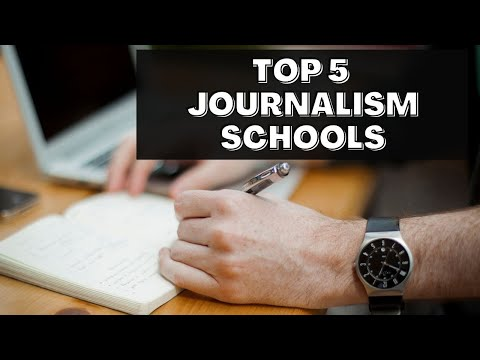 Top 5 Journalism Schools in America