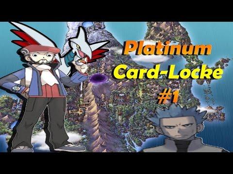 """Pokemon Platinum Card-Locke """"Much Bidoof"""" Ep.1"""