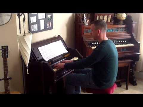 Mason & Hamlin Cabinet Reed Organ: Norwegian Pastorale - M. Oesten