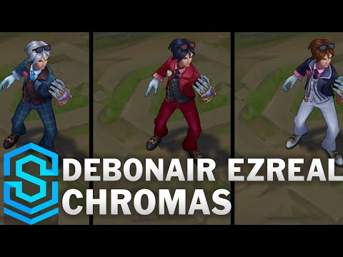 Debonair Ezreal Chroma Skins