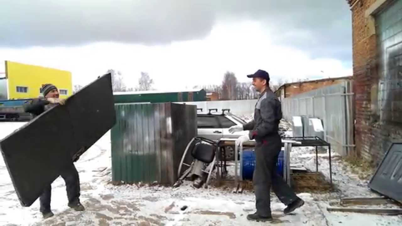 Входные металлические двери Китайского производства - YouTube