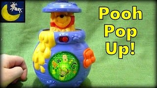 Disney Winnie the Pooh Bear Pop Up Honey Pot Toy by Vtech