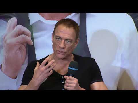 Jean-Claude Van Johnson Paris press conference (official video)
