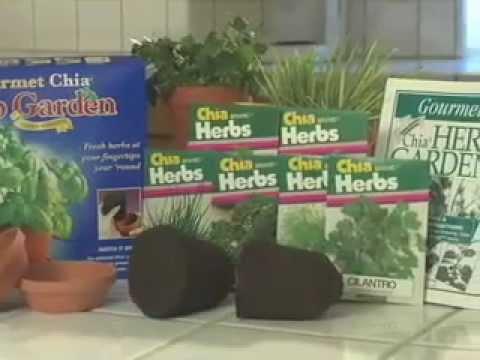 Chia Gourmet Herb Garden - YouTube