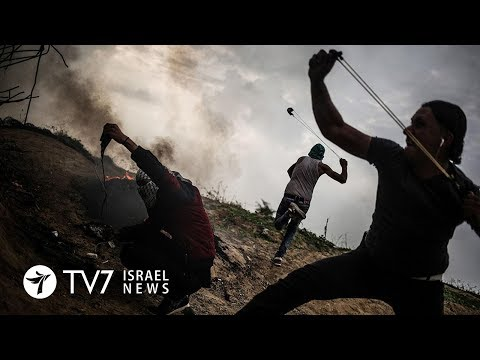 Gaza: IDF prepares for violent demonstrations and provocations - TV7 Israel News 08.03.18