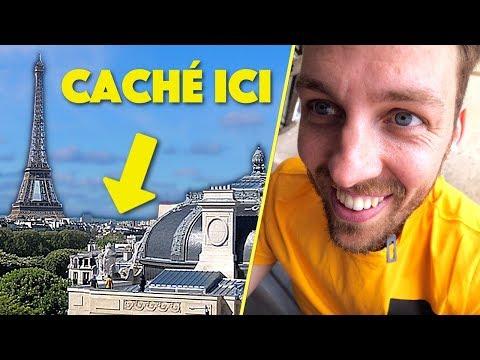 Cache-cache sur le plus grand toit de Paris