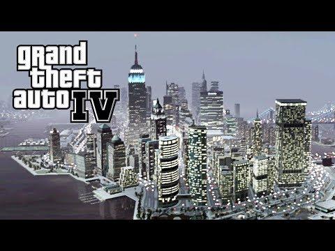 """GTA 4 - #13: Chegamos em """"MANHATTAN""""!!"""