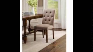 Better Homes And Gardens Parsons Dining Room Table Chair, Beige