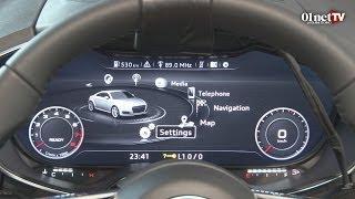 A la découverte du nouveau cockpit virtuel de l'Audi TT