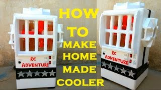 How to Make a Eco Friendly Cooler at home (Simple Air Cooler )