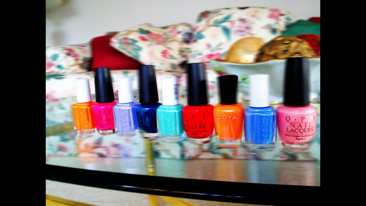 Summer Nail Polish Colors Trends Essie OPI Zoya 2012