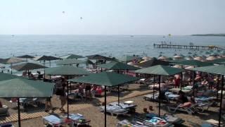 пляж отеля Сельчукхан Бельдиби ТУРЦИЯ август 2014  видео   Николай Черногорец(, 2014-09-03T19:17:31.000Z)