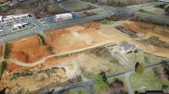 Updated Aerial View of Sheetz & New Construction at University Dr  & S. Church St - Burlington, NC