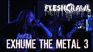 Fleshcrawl LIVE {FULL SHOW - 3 Cams} @ Exhume The Metal 3 Day 2 - Zinsholz 2018 - Dani Zed