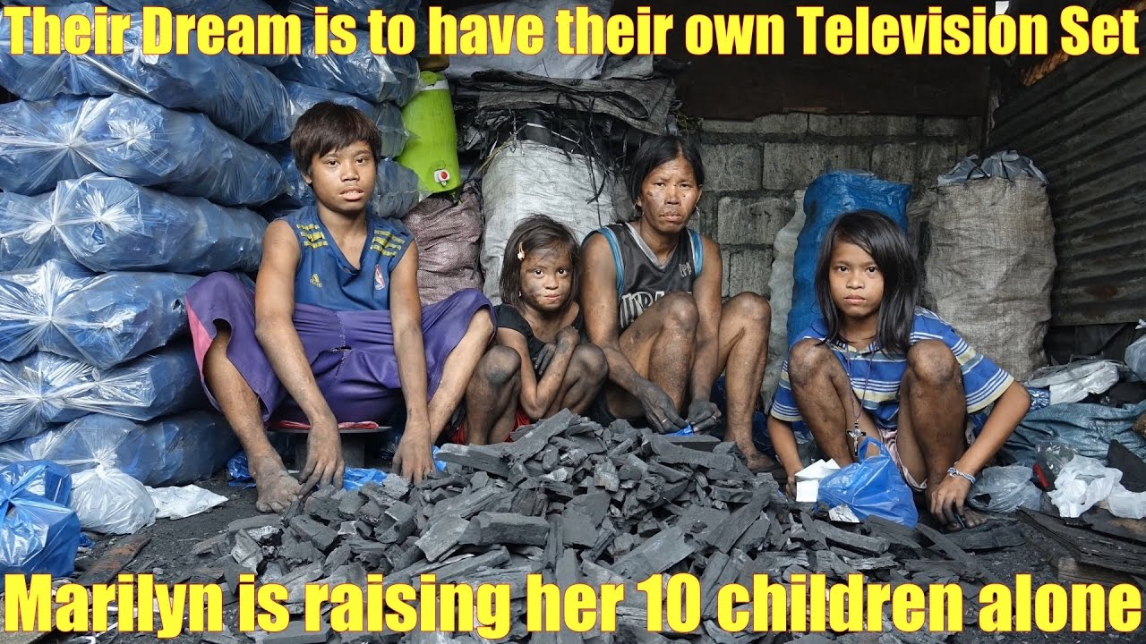Manila Slums Travel To The Philippines And Meet The Poor Their Dream Is To Have A Television Set