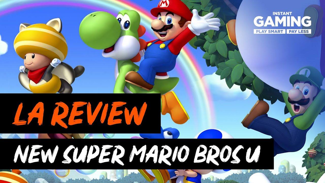 New Super Mario Bros U Deluxe La Review Youtube