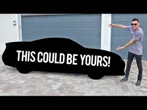 GIVEAWAY CAR REVEAL