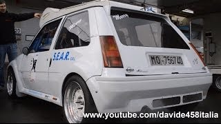 300 hp Renault 5 GT Turbo: start up and track action