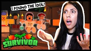 I FOUND THE IMMUNITY IDOL BUT THEY BACKSTABBED ME! - Roblox Survivor