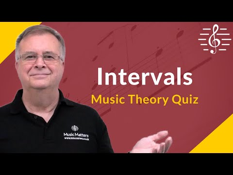 Name the Interval 1 - Music Theory Test