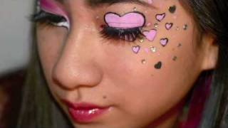 Request - Valentines Day Rave Makeup ! Thumbnail