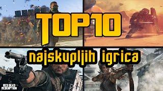 Top 10 Najskuplje igrice