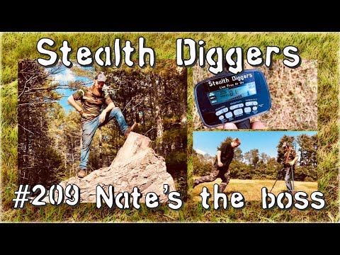 Nates the boss #209 Farm field metal detecting NH Garrett ATGOLD ATPRO
