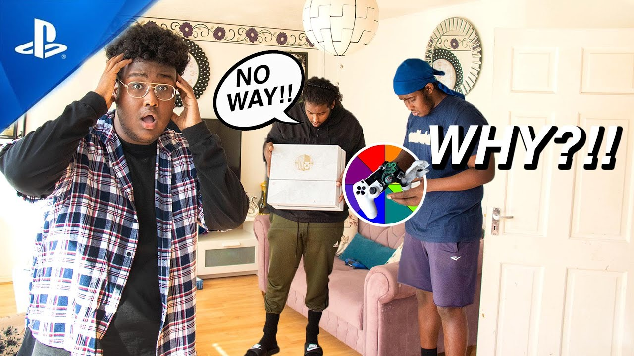 I Broke My Brothers PS4 PRANK!! *BAD IDEA* 😱😡