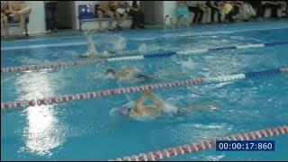 """Плавание. Соревнования в кочубеевском бассейне """"Дельфин""""."""