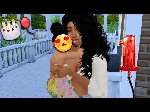 THE SIMS 4 | SEASON 3 - EPISODE 19 | HAPPY BIRTHDAY MILAN! | BABY TO TODDLER