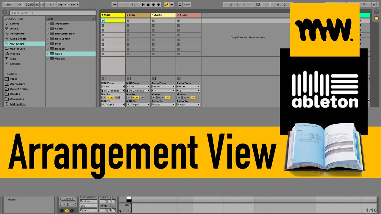 arrangement view ableton live manual 7 youtube rh youtube com ableton live lite manual pdf ableton live lite user manual