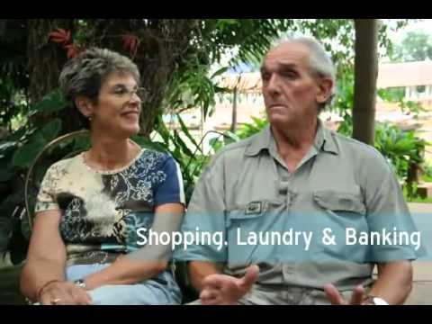 Thailand Shopping, Laundry,  Banking