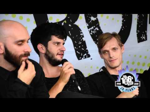 X Ambassadors Interview - Weenie Roast 2015