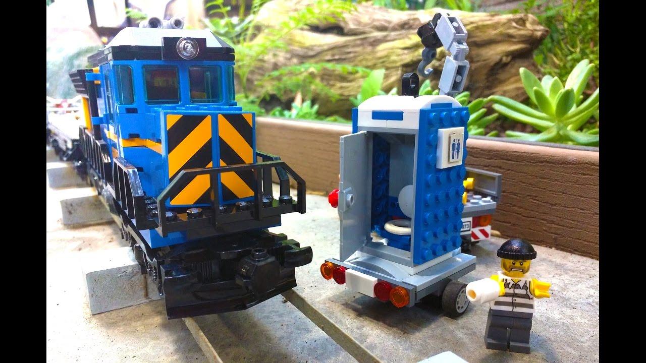 Lego crooks blow up a porta potty - YouTube