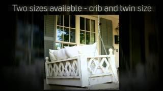 Hammmade Modern Hanging Swing Bed
