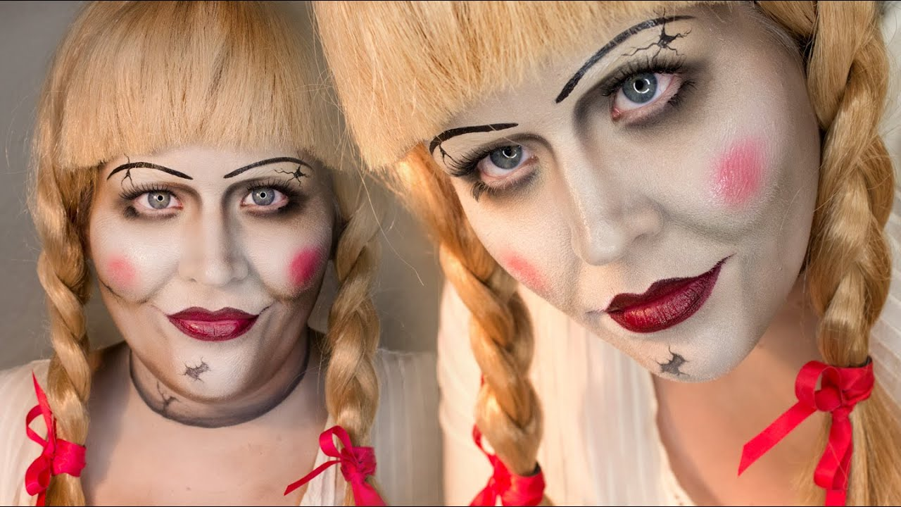 Annabelle Makeup Tutorial Conjuring