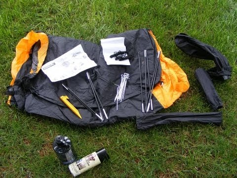 Eureka Solitaire Tent  Setup - The Outdoor Gear Review & Eureka Solitaire Tent : Setup - The Outdoor Gear Review - YouTube