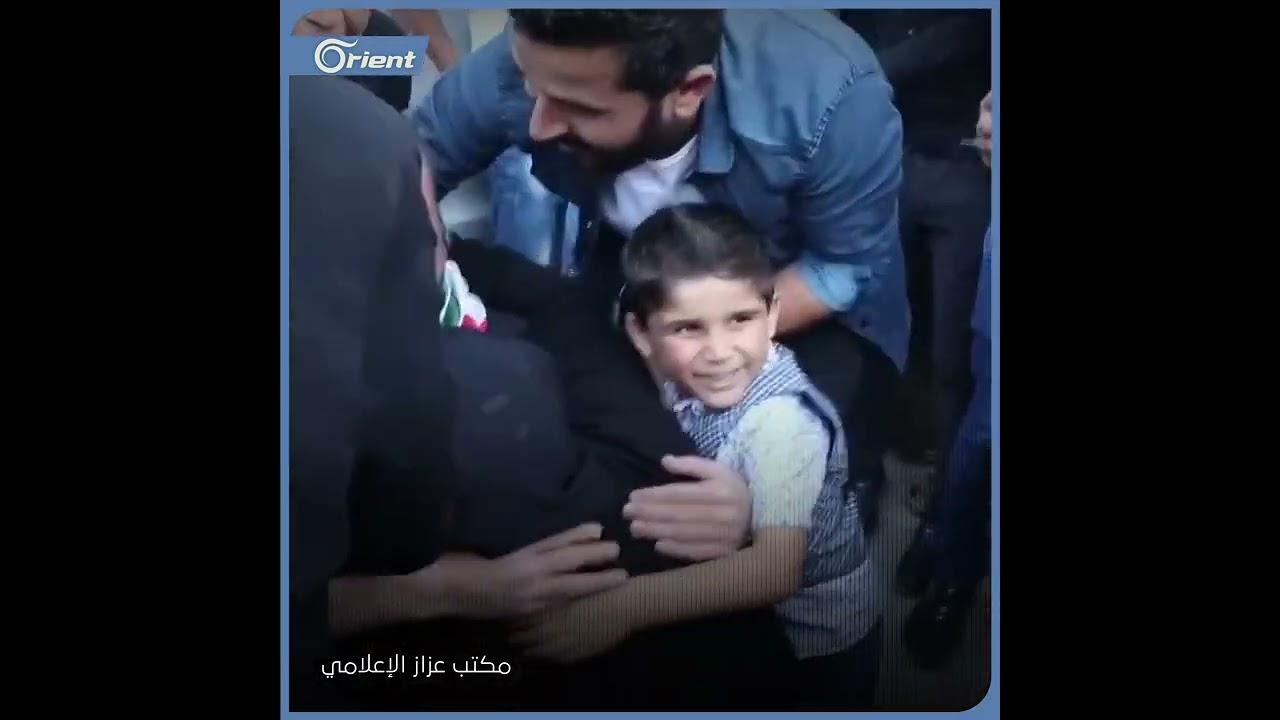 بعد اعتقال دام خمس سنوات في سجون قسد وأسد... هكذا كانت لحظة لقاء محمد مدلج بعائلته  - 12:54-2021 / 6 / 12