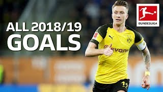 Marco Reus - All Goals 2018/19