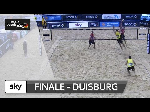 Duisburg: Das Männer-Finale in voller Länge | smart beach tour 2016
