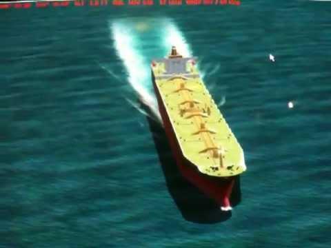 FS2004 / FSX: VLCC (Very Large Crude Career) Tanker Ship sailing in the Sea of Marmara