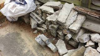 Complete landscaping with sleepers, multilevel garden renovation 2016