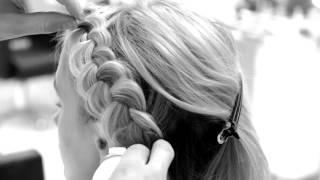Плетение на короткие волосы в салоне Olga Dikaya