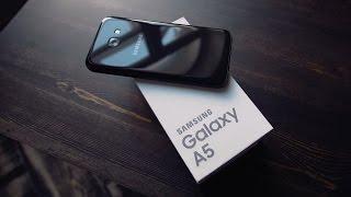 видео Обзор Samsung Galaxy A5 (2016)