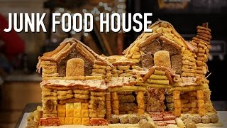 DIY JUNK FOOD HOUSE