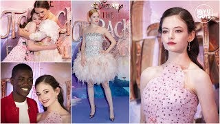 Mackenzie Foy leads an all-star cast at The Nutcracker and the Four Realms Premiere