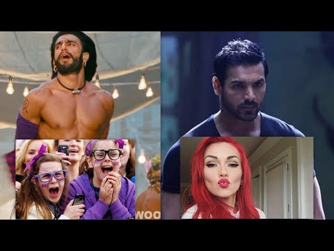 """Bollywood better than Hollywood"" says American - Compilation - Reaction Video"