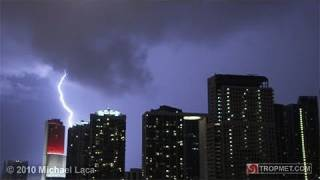 Labor Day Lightning - Miami, Florida - September 6, 2010